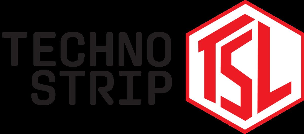 Techno Strip Logo